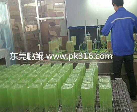 自动化玻璃杯玻璃瓶自动喷漆线 (2)