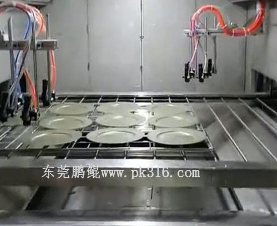 餐具餐盒喷涂线1
