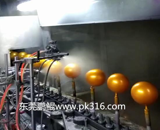 玻璃球自动喷涂机