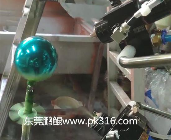 玻璃球自动喷涂机.