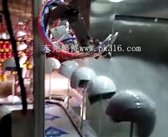 头盔自动喷涂设备