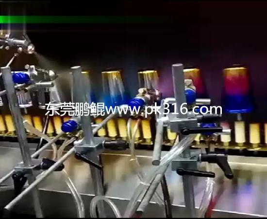 广东莞渐变色杯子自动喷涂机设备