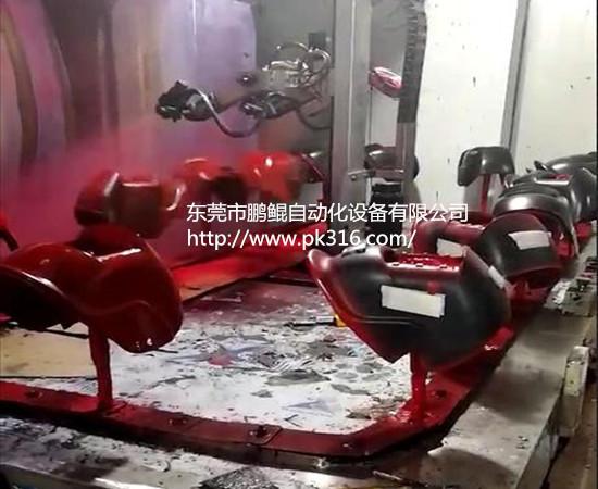 电焊面罩自动喷漆机