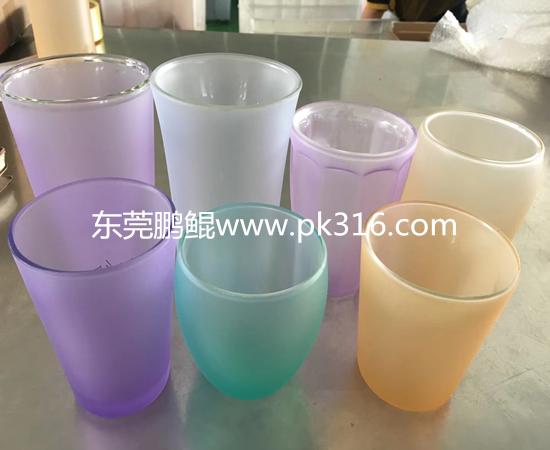 选购玻璃瓶自动喷涂设备