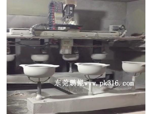 砂锅自动喷涂机
