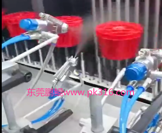 塑胶制品喷漆生产线