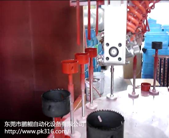 工件内壁自动喷涂设备