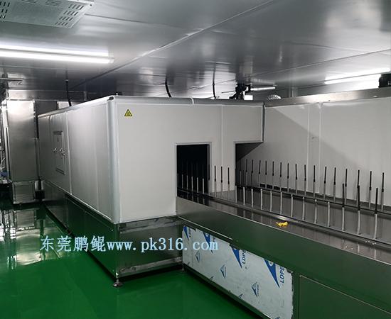 广东揭阳喷漆生产线1