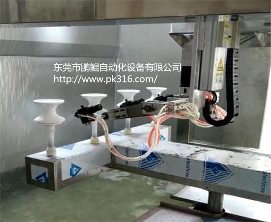 东莞树脂工艺品自动喷漆设备.