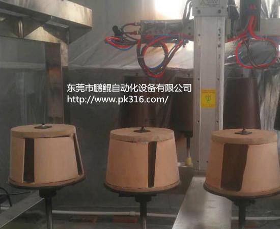 塑料垃圾桶自动喷漆机 ..