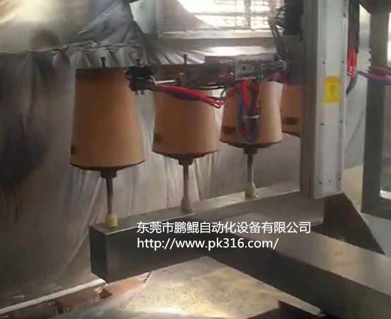 塑料垃圾桶自动喷漆机 .