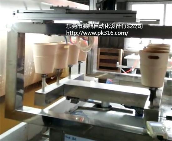 塑料垃圾桶自动喷漆机