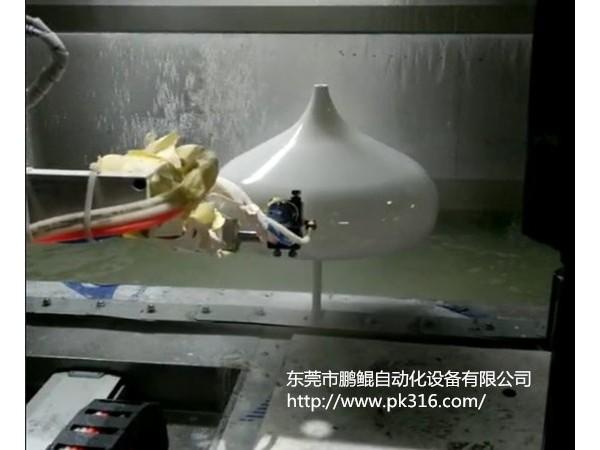 中山亚克力灯罩自动喷漆机厂家研发定制