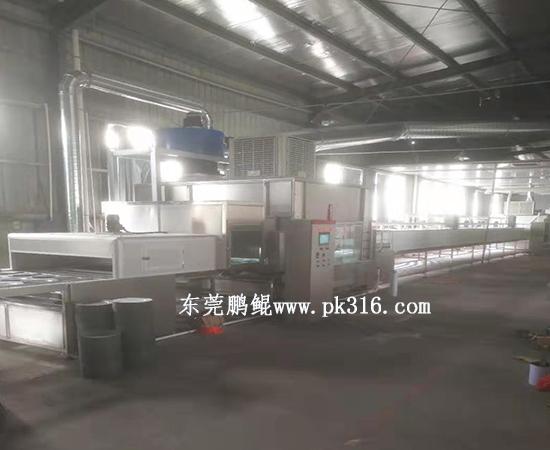 深圳喷漆烘干线1