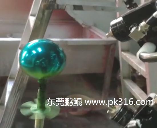 玻璃球自动喷漆线.