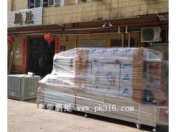 出口越南的玻璃制品喷烤一体机