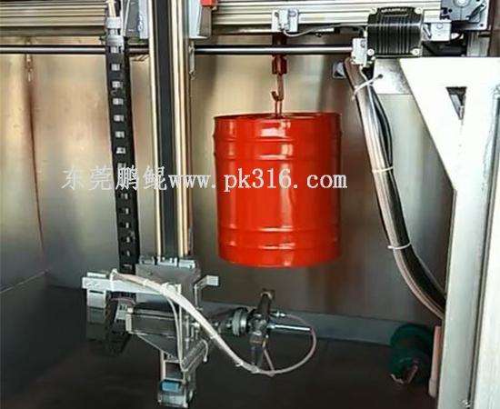 铁桶自动喷涂设备1