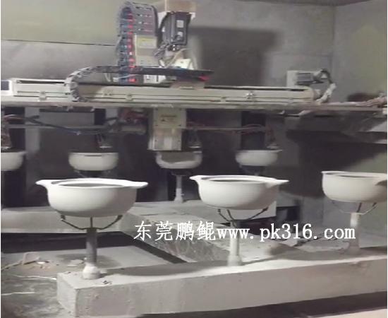 砂锅自动喷漆机