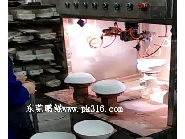 江西哪个厂家生产陶瓷碗喷漆设备?