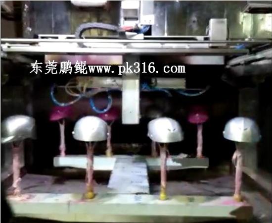 头盔自动喷漆机
