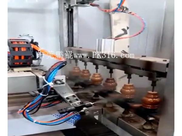木脚自动喷漆机