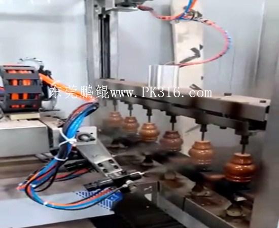 木脚自动喷漆机1