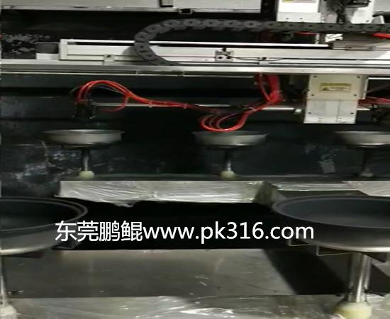 锅具自动化喷漆设备