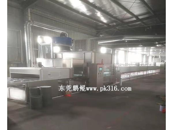 深圳流水线喷漆设备的工艺流程!