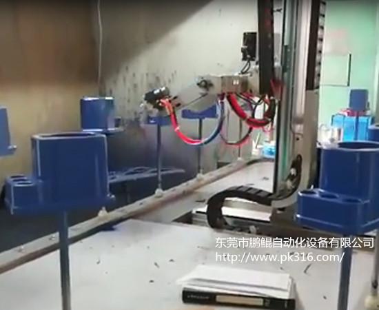 塑胶件自动喷漆机